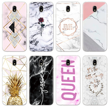 Marble Soft TPU Silicone Cases For Samsung Galaxy J7 Pro Cas