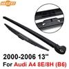 QEEPEI Rear Wiper Blade Arm For Audi A4 8E 8H B6 5 Door Avant 33CM 2000