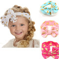 Dot Bow Headband For Baby Girls Fashion Lace Hairband With Hair Kids Boutique Hair Accessories