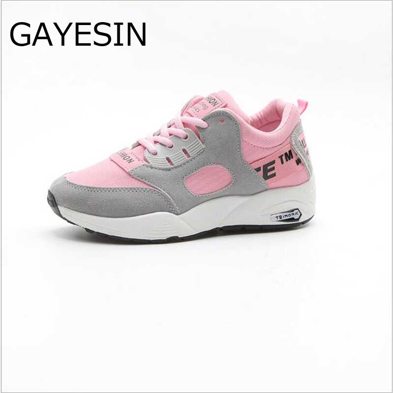 2018 Fashion Trainers Sneakers Women Casual ladies Shoes air Mesh Grils Wedges Canvas Shoes Woman Tenis Feminino Zapatos Mujer 3