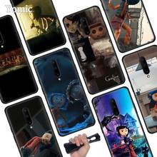 Coraline Black Soft Case for Oneplus 7 Pro 7 6T 6 Silicone TPU Phone Cases Cover Coque Shell