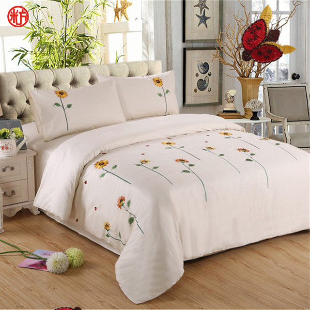 Count King Size Sunflower Bedding