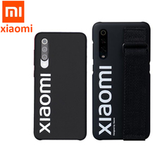 Original Xiaomi 9 Case 9 SE Hard Case PC Wrist strap Cover Protector Back Cover Case For XIaomi 9 Mi 9SE / screen film PET