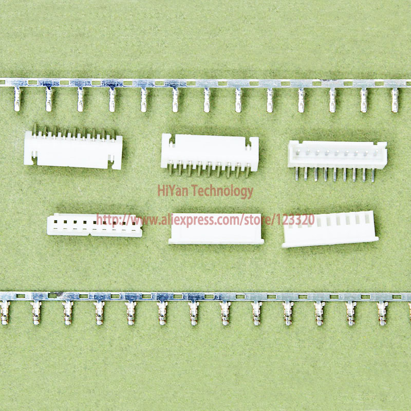 (100sets/lot) connector XH2.54 9Pin 90degrees Pitch:2.54MM 0.1inch 9AW Pin Header + Terminal + Housing XH2.54-9P