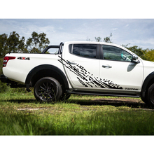 mudslinger side door sticker for MITSUBISHI L200 TRITON 2015