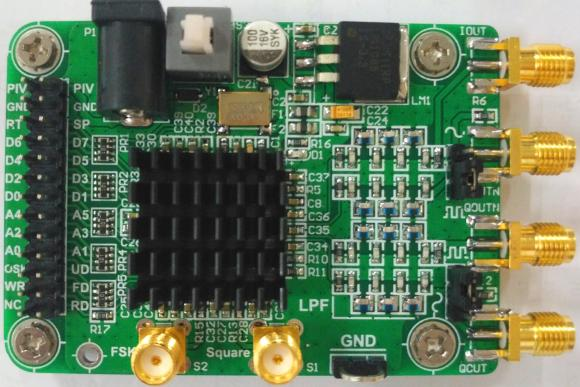 AD9854 Module High-speed DDS Provides Test Program Sine Wave, Fang Bo Orthogonal Signal Generator an incremental graft parsing based program development environment