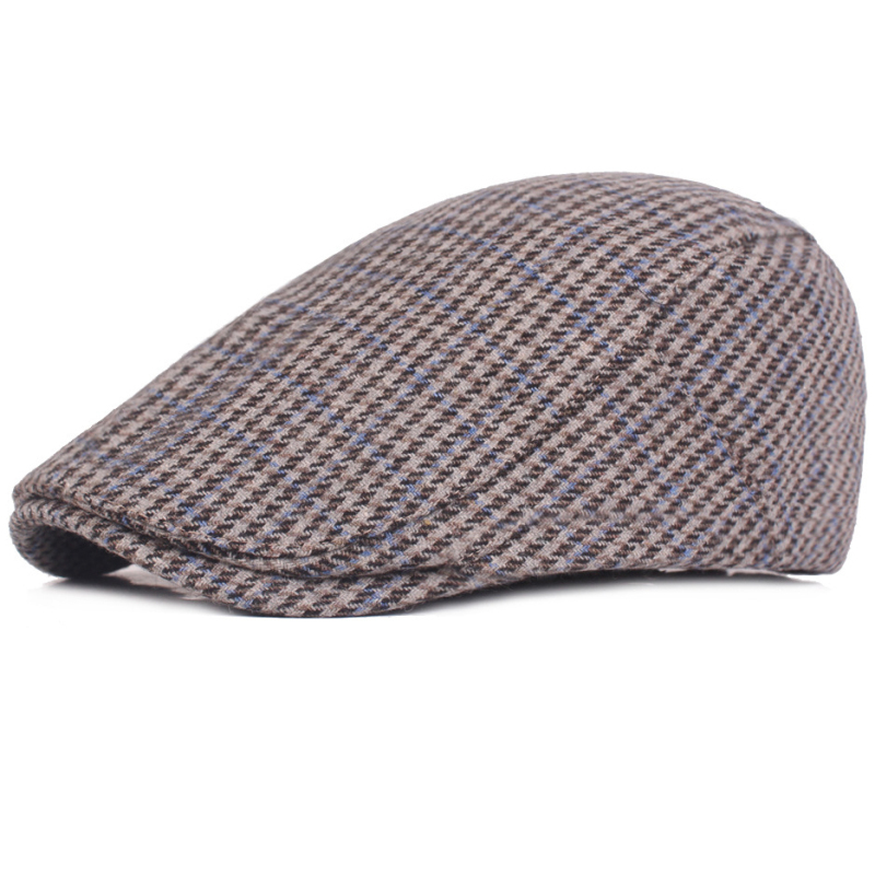 HT1967 New Autumn Winter Hats for Men Casual Vintage Men Beret Caps Male Wool Berets Ivy Cabbie Advanced Flat Caps Beret Hats in Men 39 s Berets from Apparel Accessories