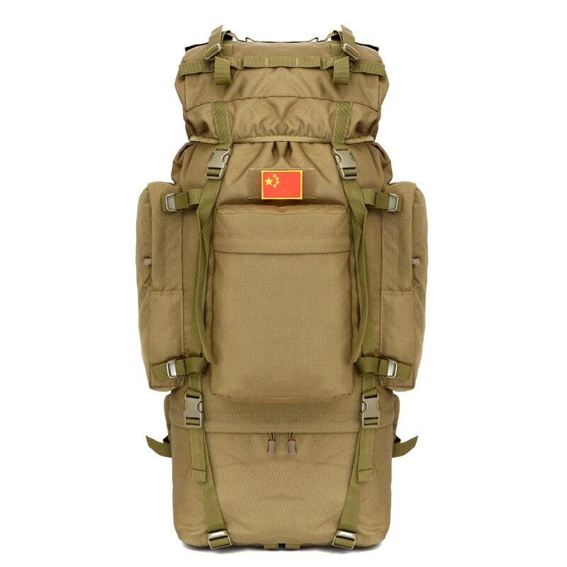 100L Camping Climbing Trekking Large Capacity Rucksack Travel Luggage Outdoor Hiking Nylon Waterproof Camoulage Backpack Bag