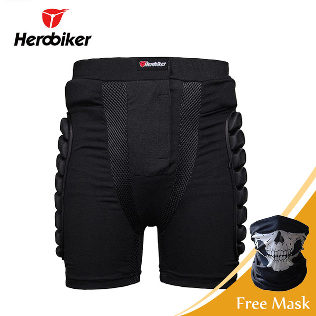 Unisex Motorcycle Shorts Armor Ski Snowboard Skating Skateboard Cycling Protective Gear Hip Pad Shorts Motocross Protector