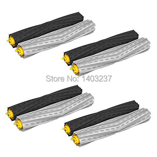 4 Sets Tangle-Free Debris Extractor Set replacement For iRobot Roomba 800 series 870 880 900 series 980
