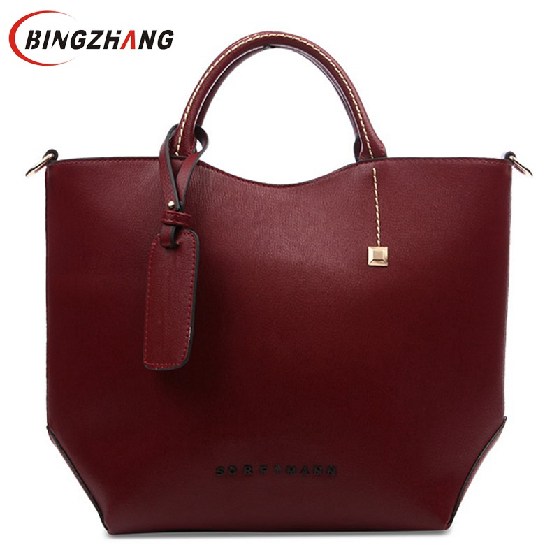 New Women Messenger Bag Women's Fashion Leather Handbags Designer Brand Lady Shoulder Bag High Quality FC40-25 2016 spring autumn cotton fashion boys clothes 3pcs children clothing sets long sleeve t shirt vest casual pants outfits b235