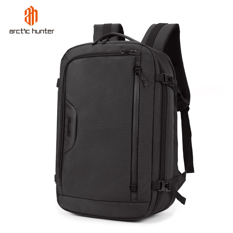 Mens Large Capacity 15 6 17 inch Laptop Backpack Waterproof Multifunction Travel Bags School Bag Male