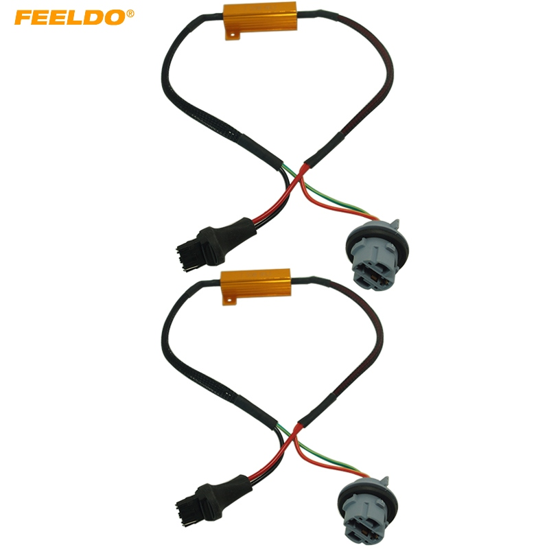 10Pcs 7440 Canbus Error Free Resistor LED Decoder Warning Error Canceller For 7440 7444 T20 992A LED Turn Signal Bulb #AM5334