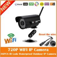 FTP Motion Detect WiFi 1 0MP HD 1280 X 720P Bullet IP Camera 802 11b G