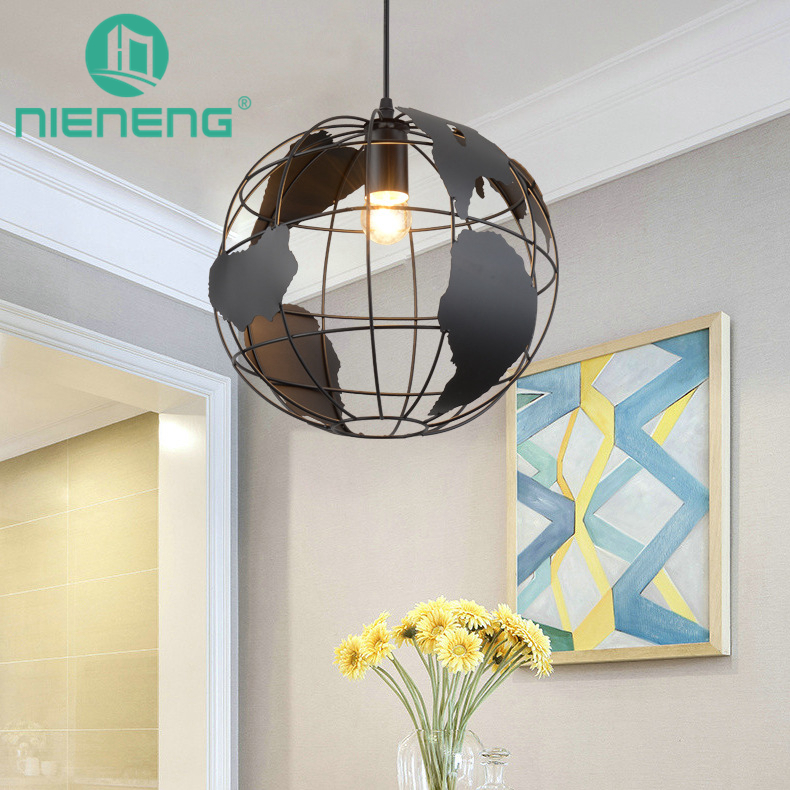 Nieneng vintage pendant lights black bar light antique iron restaurant lighting chain lamp pub foyer accessories ICD60308 old antique bronze doctor who theme quartz pendant pocket watch with chain necklace free shipping
