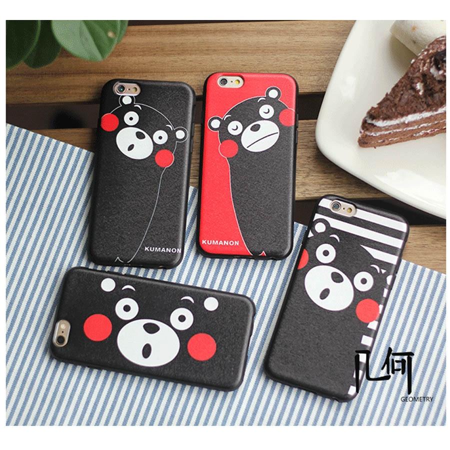 NEW luxury Cute Kumamon Case Matte Hard Cover Capa Para Carcasas Coque Funda Hoesje For iPhone 6 6s 4.7″/ Plus 5.5″ Plastic Case