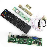 T.VST59.03 LCD/LED Controller Driver Board For B141EW04 V4 QD14TL02 (TV+HDMI+VGA+CVBS+USB) LVDS Reuse Laptop 1280x800