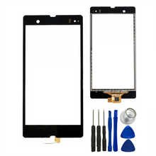 For Sony Xperia Z L36h LT36i C6603 C6602 Touch Screen With Digitizer Glass Panel Sensor+Free Tools,Free Shipping&Tracking Number