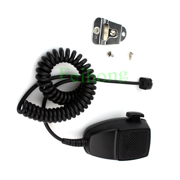 Micrófono de 8 pines PTT de hombro portátil para Motorola GM300 GM350 GM338 GR400 Radio de coche