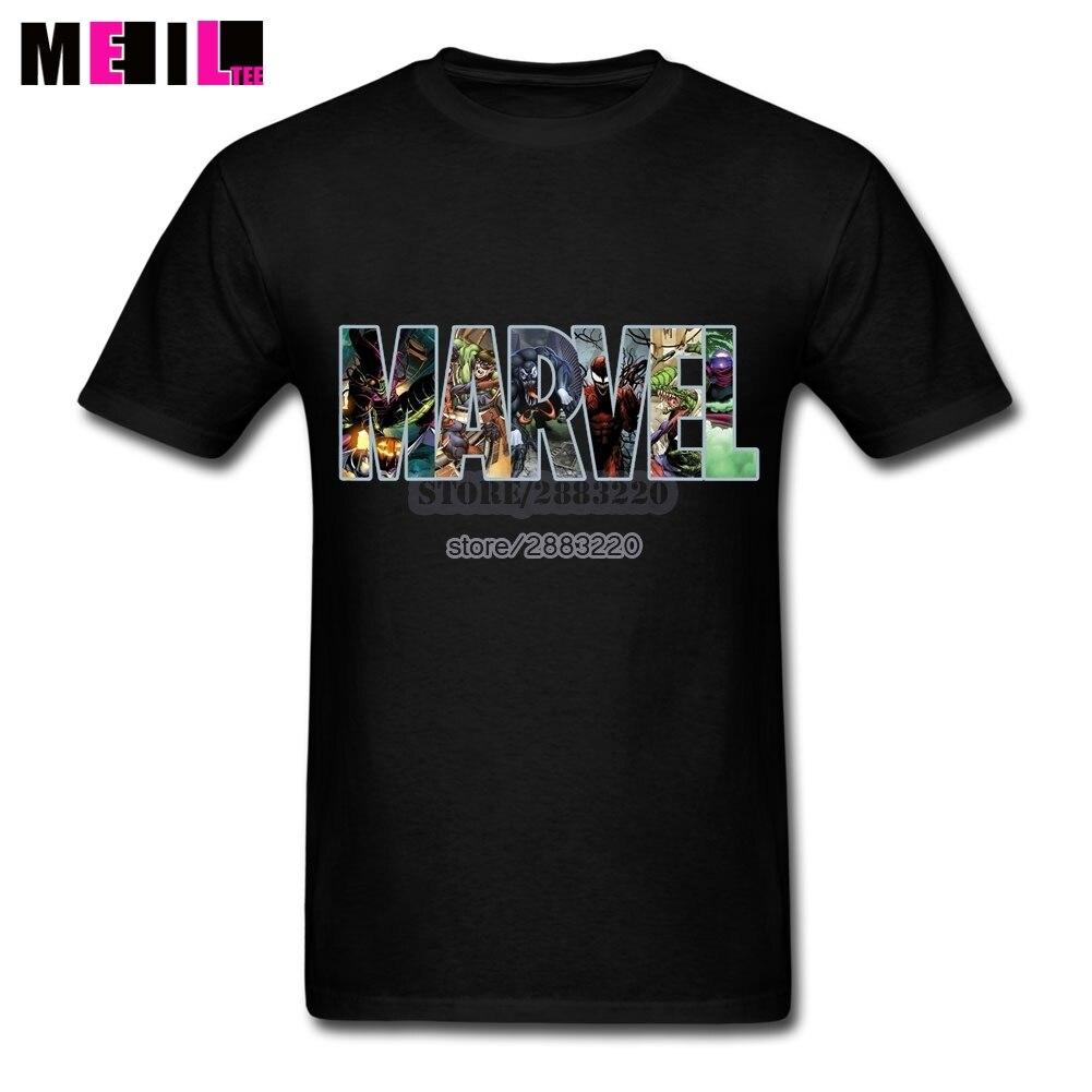 Design t shirt price - 3xl Marvel Comics Wallpaper Unique Family T Shirt Short Sleeve Cotton Custom Design Tshirt Online