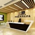 Новый дизайн  современный модный белый деревянный стол для офиса или свадьбы с дымовым стеклом # QT3900