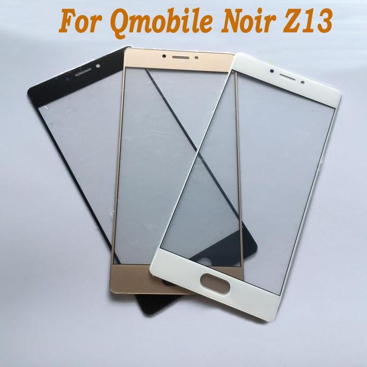 Gold/Black/White Glass cover For Qmobile