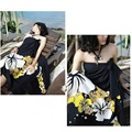 1 pcs Fashion Women Sexy Swimsuit Bikini  Cover-up Sarong Beach Cover Up Scarf Swimwear Dress One size