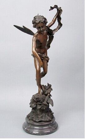 Copper Brass Crafts Asian Greek Mythology Cupid Bronze