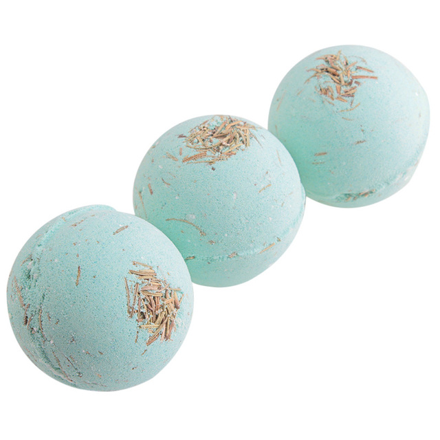 Sea Salt Bath Ball Rose Green Tea Lavender Lemon Milk Essential Oil Bubble Bomb Gift 88 4