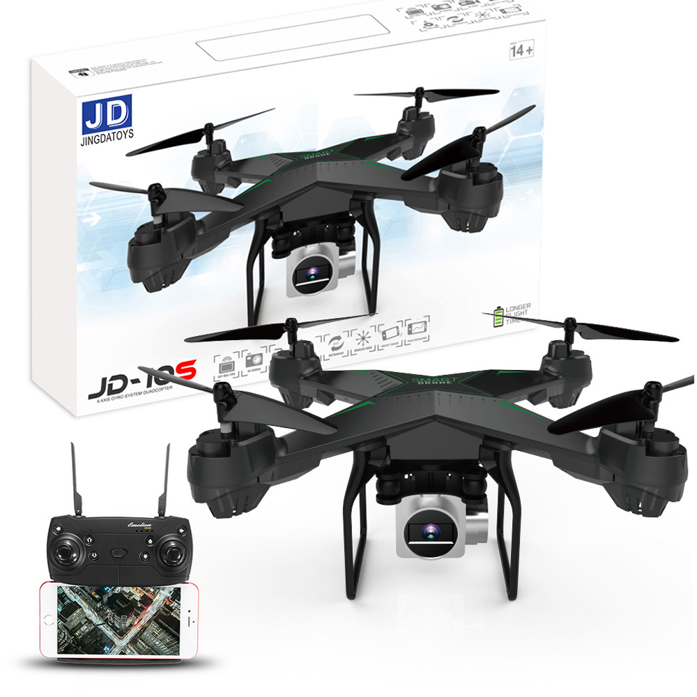JDRC JD-10S JD10S WiFi FPV Mit 2MP Weitwinkel HD Kamera Höhe Halten RC Drone Quadcopter 6-Achse Ein schlüssel Zu Rückkehr
