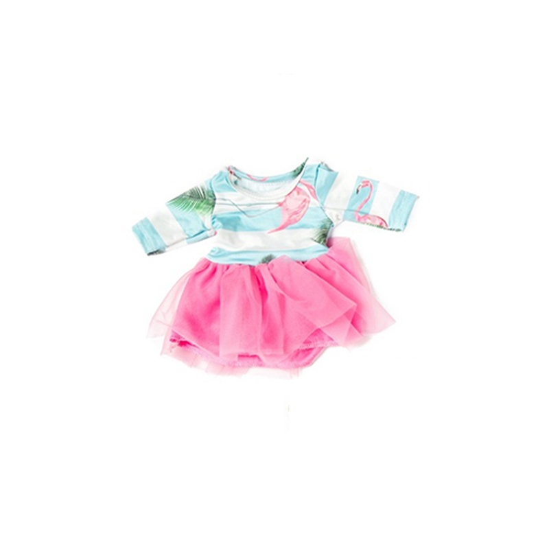 18 Inch Doll Dress My Little Baby Accessories fit 18 39 39 43 46cm american life doll Cute Toy clothes outfit fit Girl Gifts in Dolls Accessories from Toys amp Hobbies