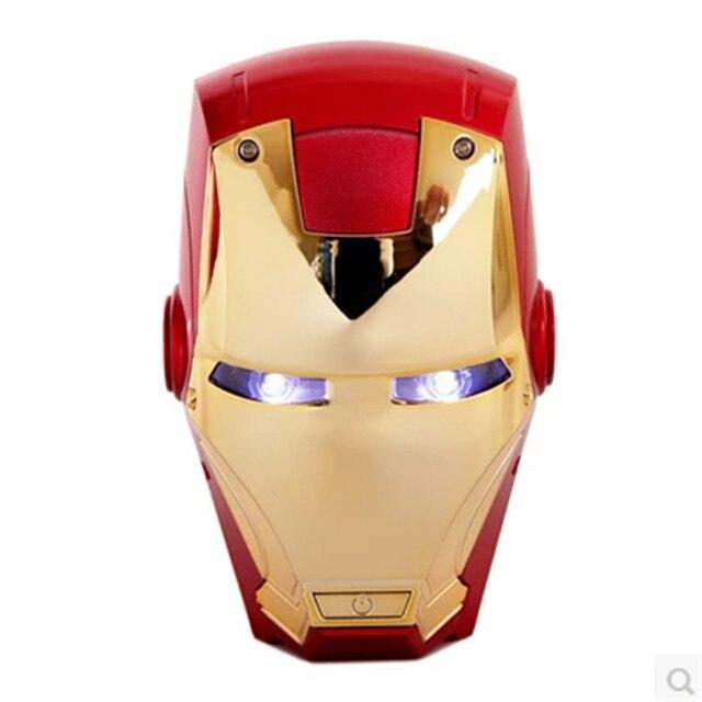 Новый Железный Человек Банк Силы 6000 мАч Мобильного Телефона Универсальный Портативный Внешний Резервный Аккумулятор Для Iphone 6 6 S Plus Портативный аккумулятор