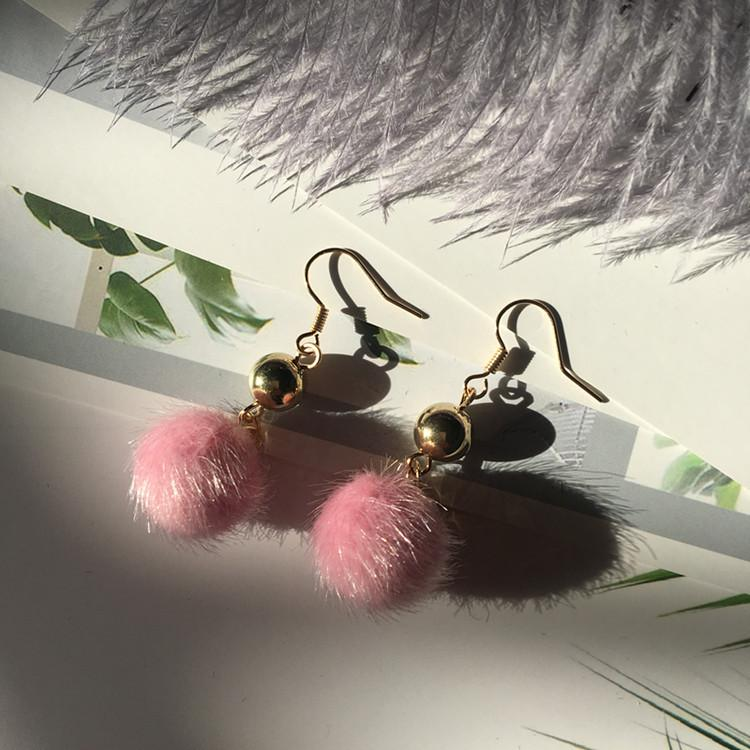 Temperament Earrings Super Long Exaggerated Tassel Earrings Dangle Earrings LQ