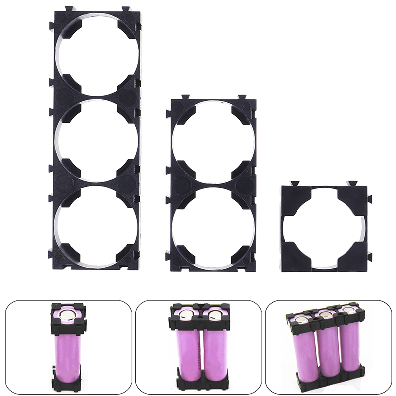 10 шт. 26650 3x 2x 1x литиевая батарея тройной держатель кронштейн для Diy батарейный блок высокое качество батарея держатель
