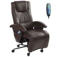 Adjustable Full Body Massage Chair Armchair Electric TV Recliner lounge Living Room Furniture Relax Reclining Chair W/ Footrest