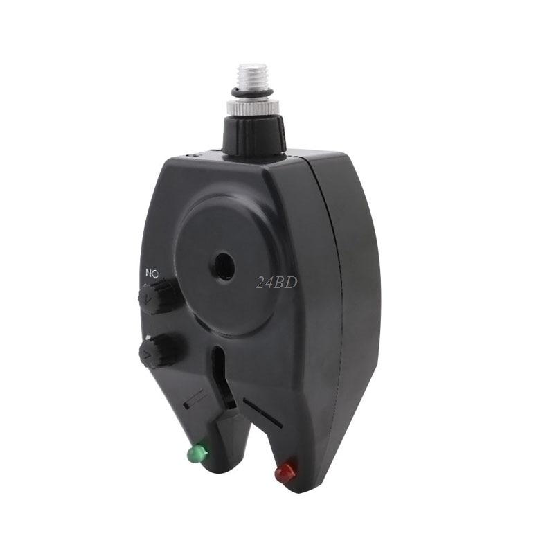 High Sensitive Electronic LED Light Fish Bite Sound Fishing Alarm Indicator Bell M06