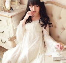 Modal lace nightgown Princess