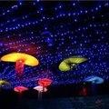 5M 50 LEDs Battery LED String Light for Home Decoration / Wedding / Holiday / Party Decoration - EU Plug