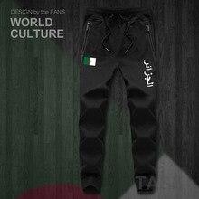 Cộng hòa của Algeria Algerian Hồi Giáo DZA Dzayermens quần chạy bộ chạy bộ jumpsuit bó sát theo dõi mồ hôi tập thể dục lông cừu chiến thuật bình thường