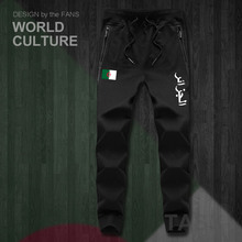 רפובליקה של אלג יריה אלג האיסלאם DZA Dzayermens מכנסיים רצים סרבל מכנסי טרנינג מסלול זיעה כושר צמר טקטי מזדמן