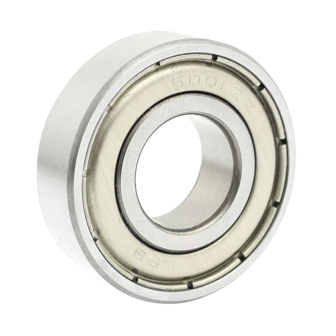 6001ZZ Double Shielded Deep Groove Ball Bearings 28mm x 12mm x 8mm gcr15 6036 180x280x46mm high precision deep groove ball bearings abec 1 p0 1 pcs
