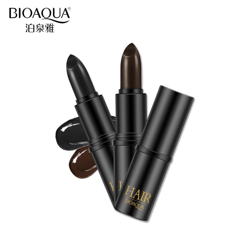 BIOAQUA Merk Zwart Bruin Tijdelijke Haarverf Crème Milde Snelle - Haarverzorging en styling