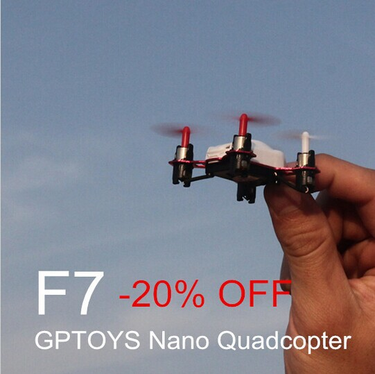 GPToys F7 Mini 4CH Quadcopter 2.4G Remote Control RC 6-Axis Gyroscope Aircraft Helicopter UFO Toys Gift Kids - Hobby Kingdom store
