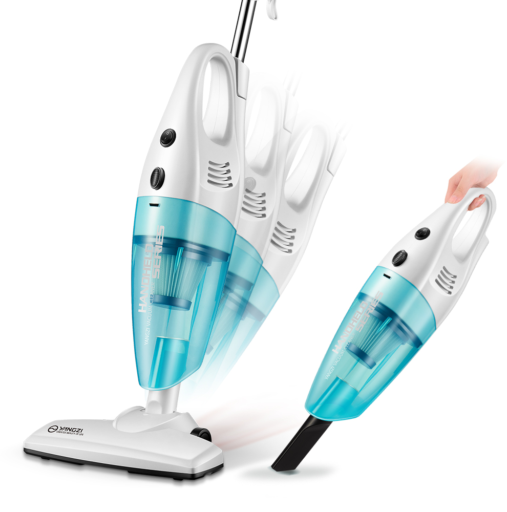 2 In 1 Electric Vacuum Cleaner Home Small Handheld Carpet Type Mute Mini Strong Mites Removal High Power Putter 1 set 2016 home handheld washing vacuum cleaner steam mop carpet cleaner mites vacuum mini mute as seen on tv