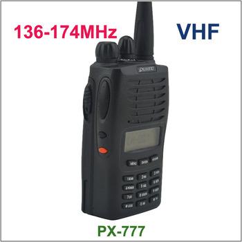 New Arrival PUXING PX-777 VHF 136-174 MHZ PX777 Radio ham radio tanie i dobre opinie 3 Km Two way radio HIROYASU Przenośne 3 km-5 km 55(W)*100(H)*32(D)mm 136-174MHz 7 2V 1200mAh Black 220g China (Mainland)