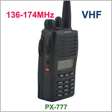 جديد وصول PX 777 puxing راديو هام راديو vhf 136 174 ميجا هرتز PX777
