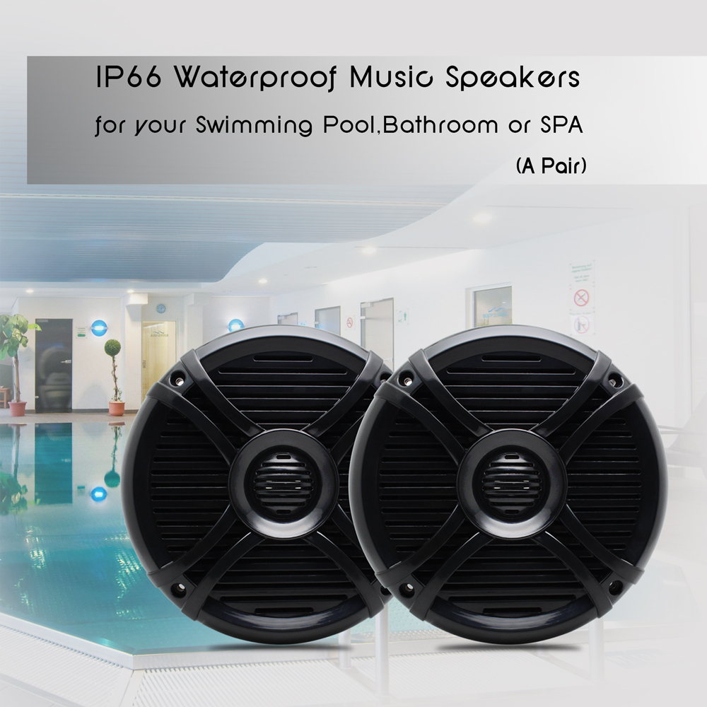 Aliexpress.com : Buy Marine Radio Package Bluetooth Stereo Waterproof Audio  Sound System 6.5 Inch Waterproof Stereo Boat Speakers Black Color From  Reliable ...