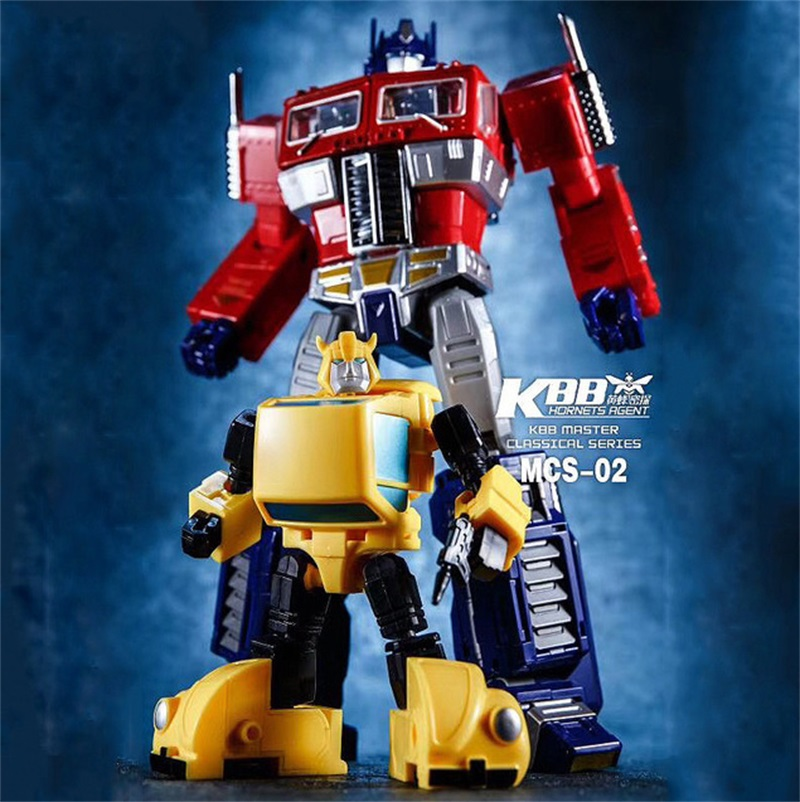 Transformers KuBianBao MCS-01B MP-10V Black Optimus Prime OP In Stock