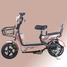 Новый электрический автомобиль электрический велосипед для взрослых 48 в небольшой аккумулятор для мужчин и женщин Путешествия трамвай роскошный амортизатор электрический автомобиль