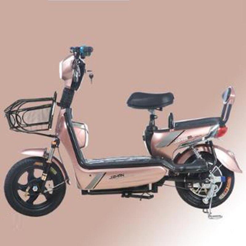 Nova 48 V pequena bateria de carro elétrico bicicleta elétrica adulto homens e mulheres viajar bonde carro absorvedor de choque elétrico de luxo carro